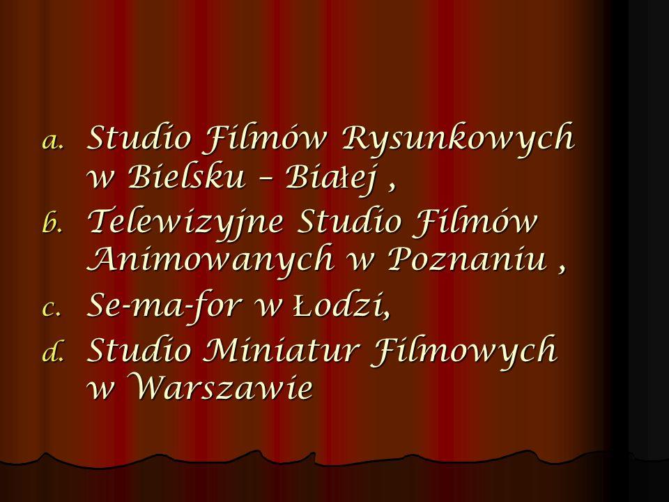 Studio Filmów Rysunkowych w Bielsku – Białej ,