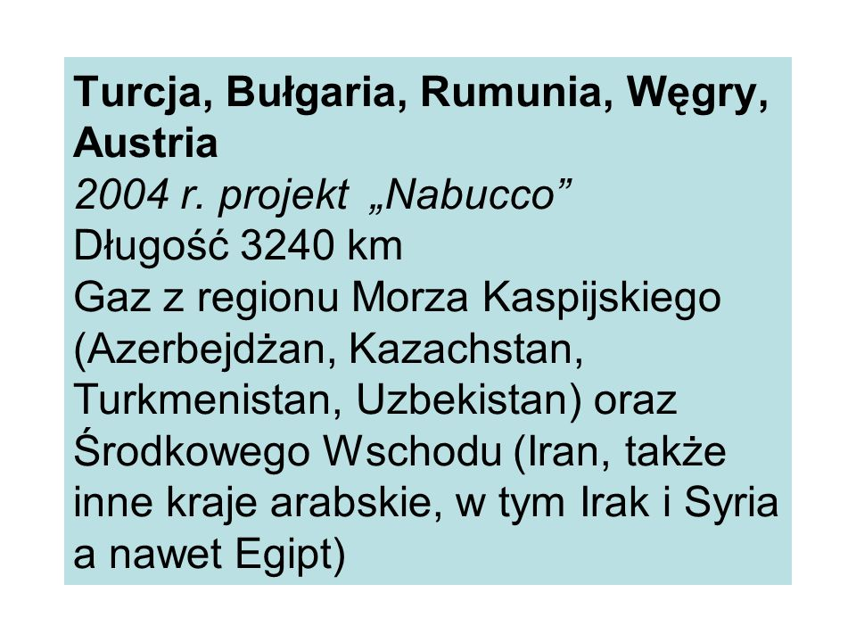 Turcja, Bułgaria, Rumunia, Węgry, Austria 2004 r