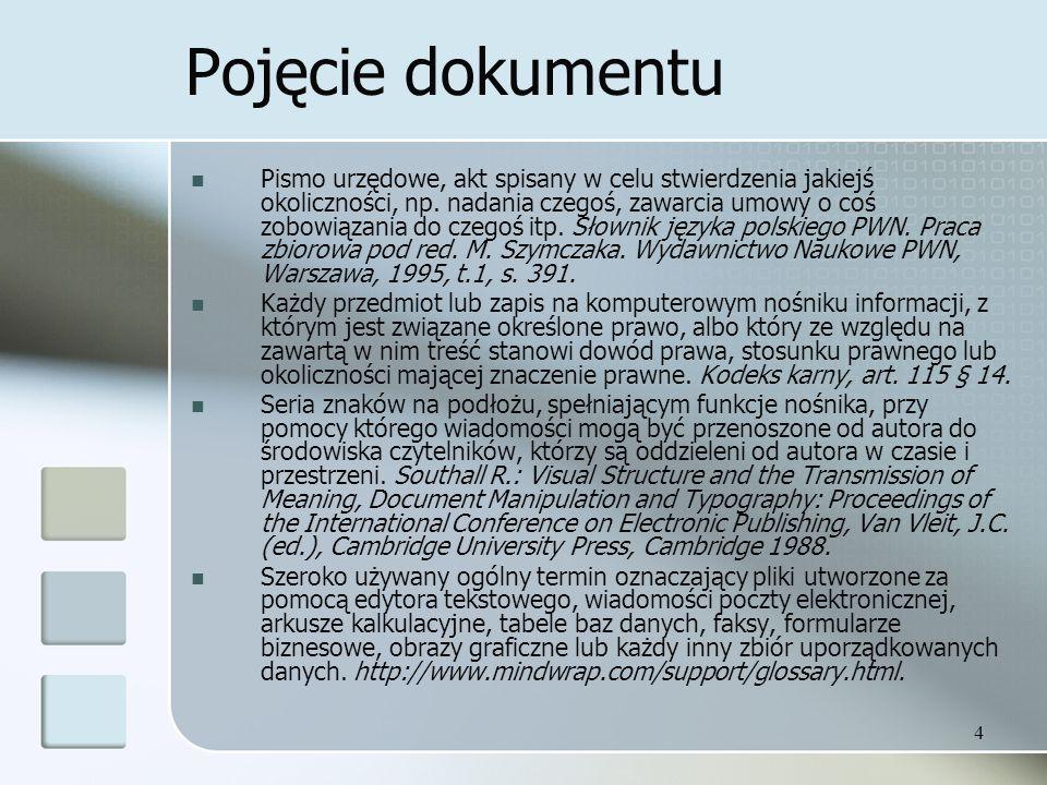 Pojęcie dokumentu