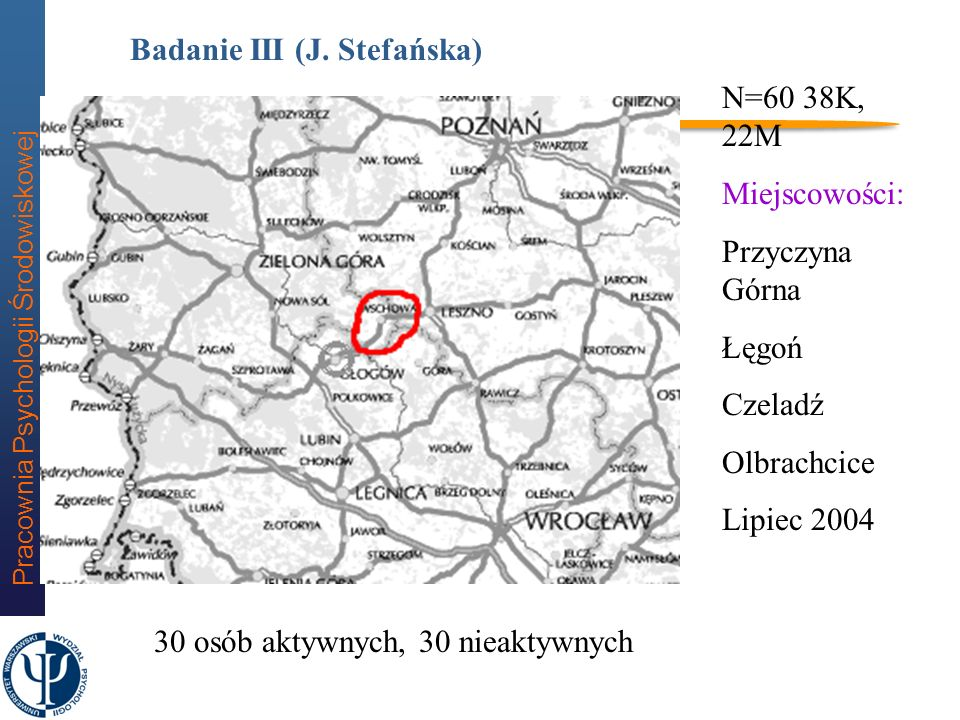 Badanie III (J. Stefańska)