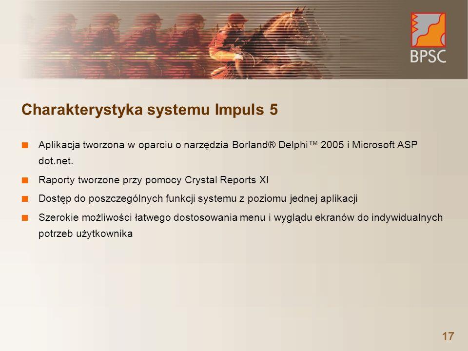 Charakterystyka systemu Impuls 5