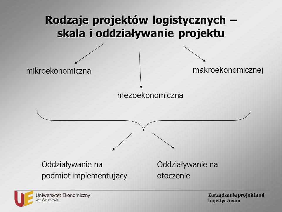 Rodzaje projektów logistycznych – skala i oddziaływanie projektu
