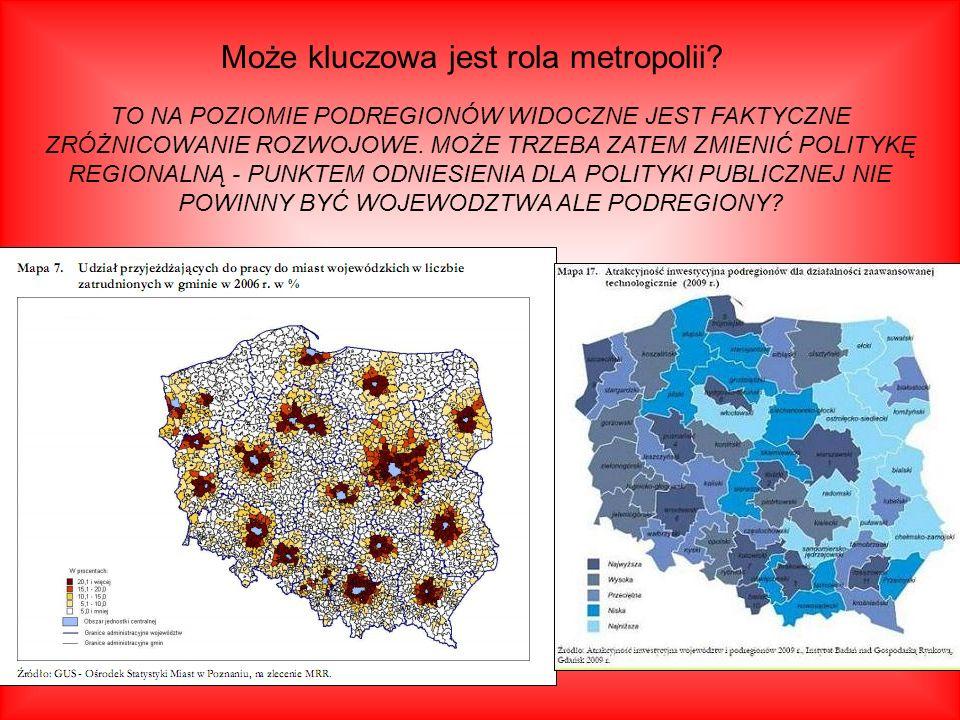 Może kluczowa jest rola metropolii