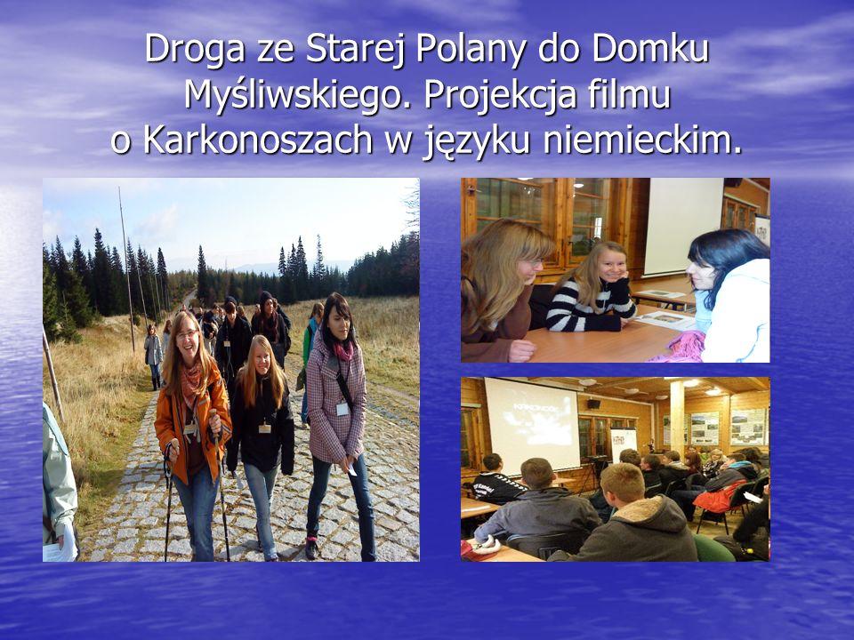 Droga ze Starej Polany do Domku Myśliwskiego