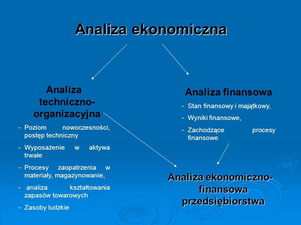 Analiza ekonomiczno-finansowa przedsiębiorstwa