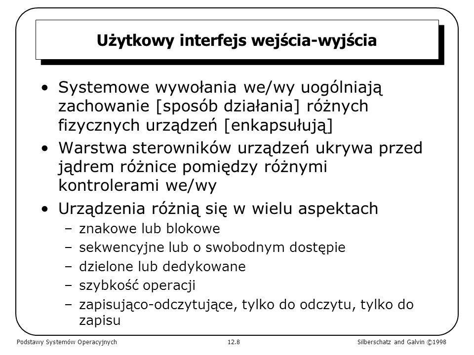 Użytkowy interfejs wejścia-wyjścia