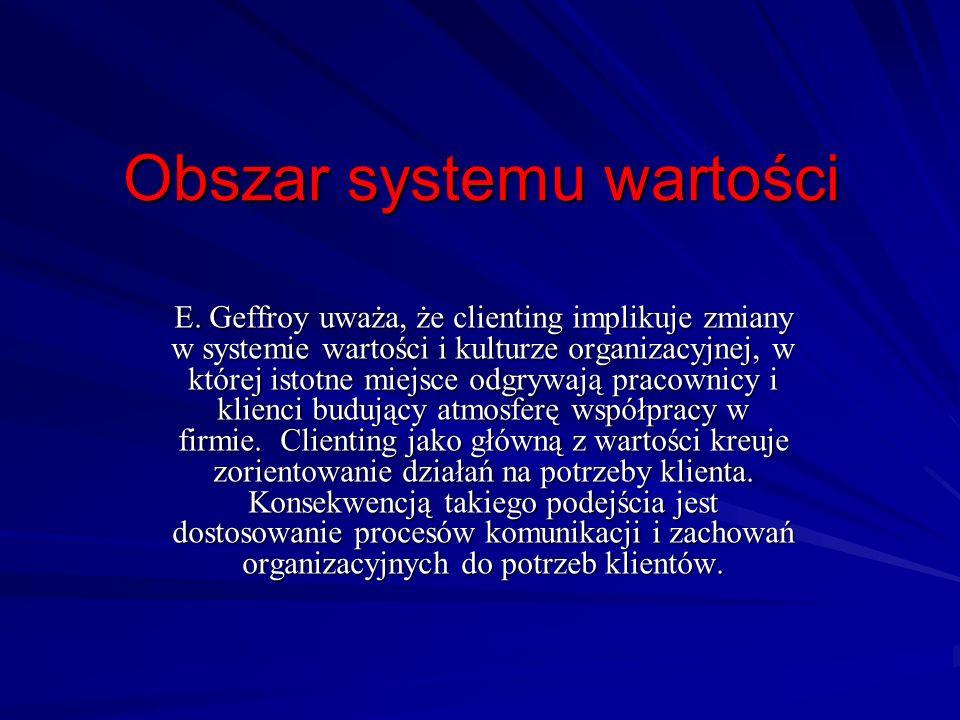 Obszar systemu wartości