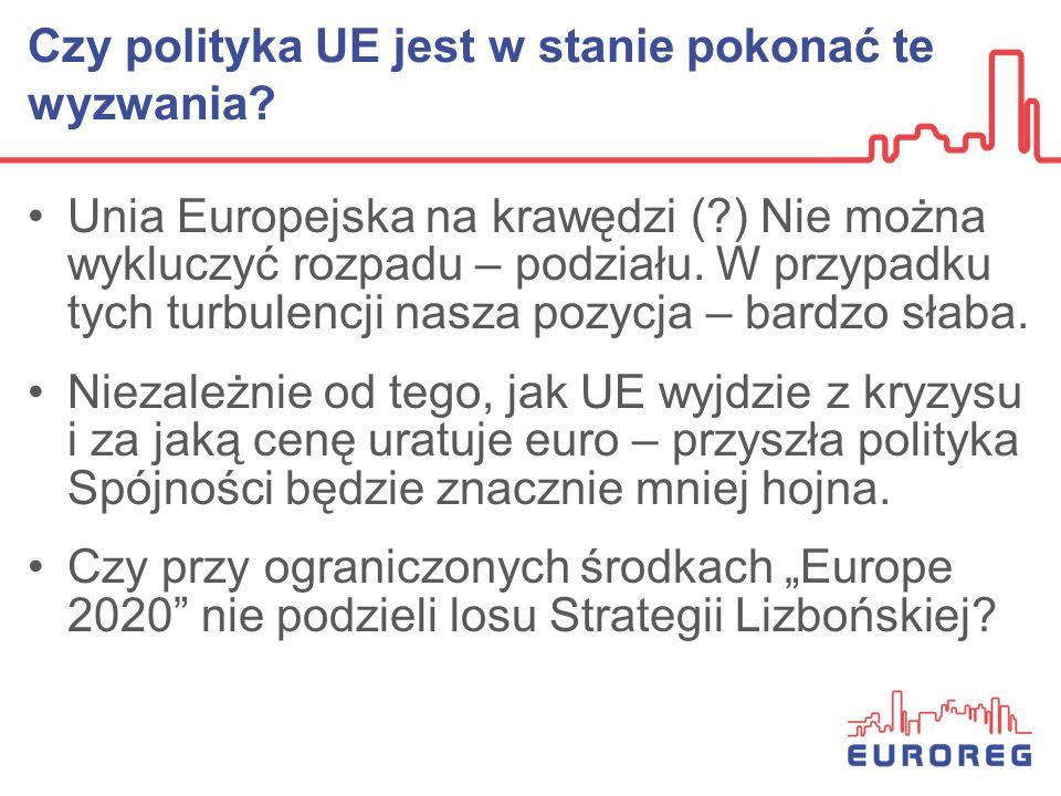 Czy polityka UE jest w stanie pokonać te wyzwania