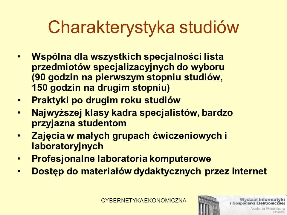 Charakterystyka studiów