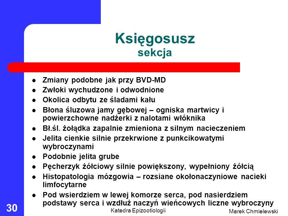 Katedra Epizootiologii