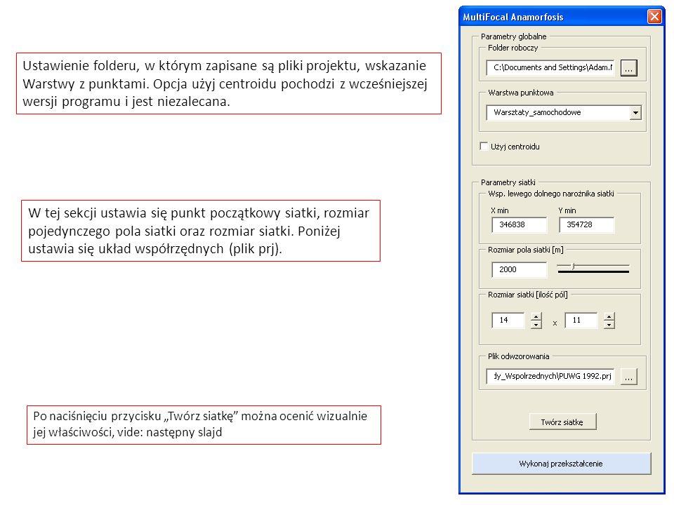 Ustawienie folderu, w którym zapisane są pliki projektu, wskazanie