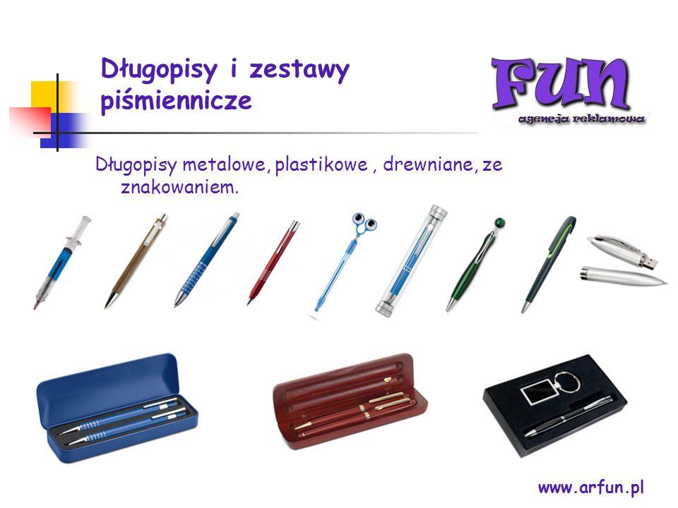 Długopisy i zestawy piśmiennicze