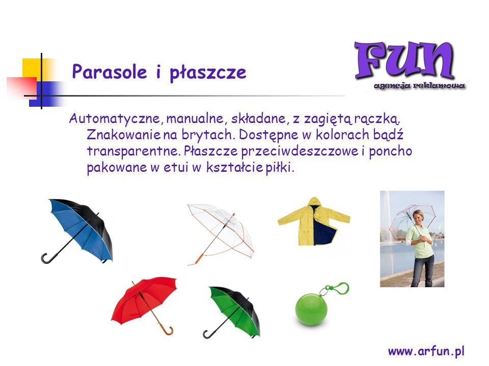 Parasole i płaszcze