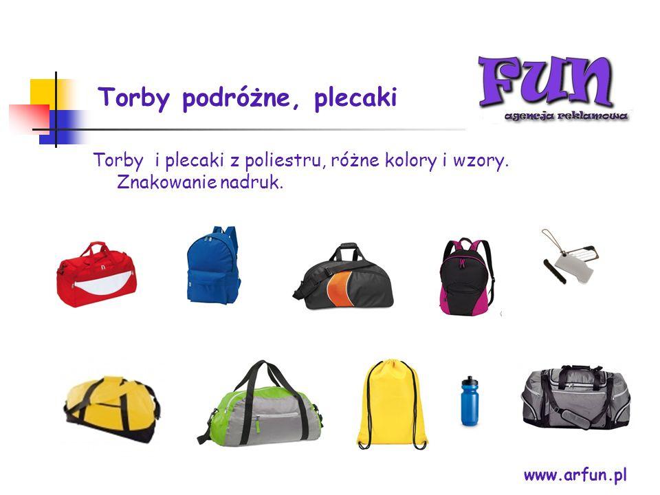 Torby podróżne, plecaki