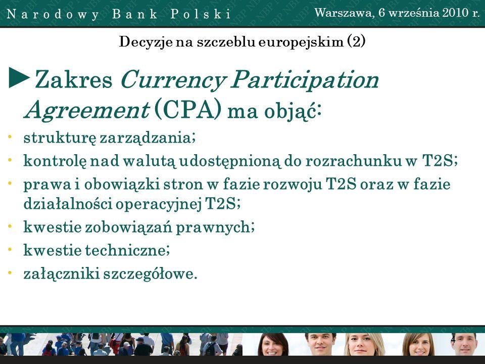 Decyzje na szczeblu europejskim (2)
