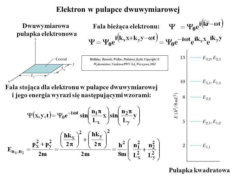 Elektron w pułapce dwuwymiarowej
