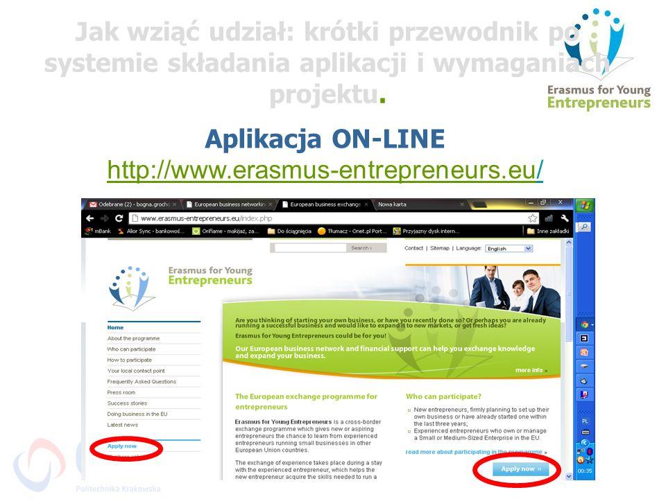 Jak wziąć udział: krótki przewodnik po systemie składania aplikacji i wymaganiach projektu.
