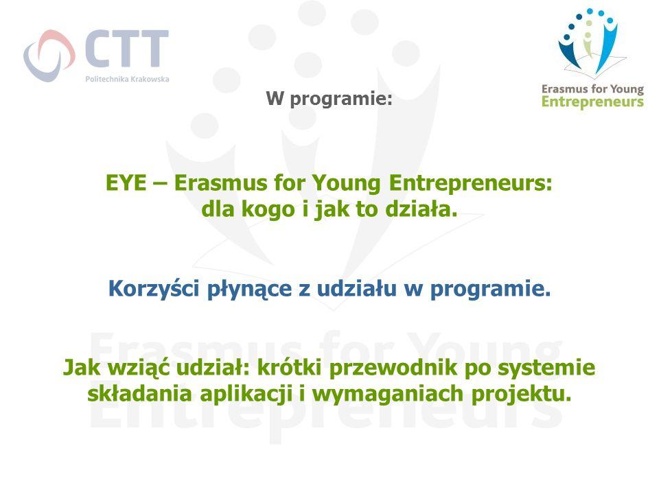 EYE – Erasmus for Young Entrepreneurs: dla kogo i jak to działa.