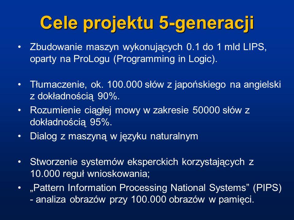 Cele projektu 5-generacji