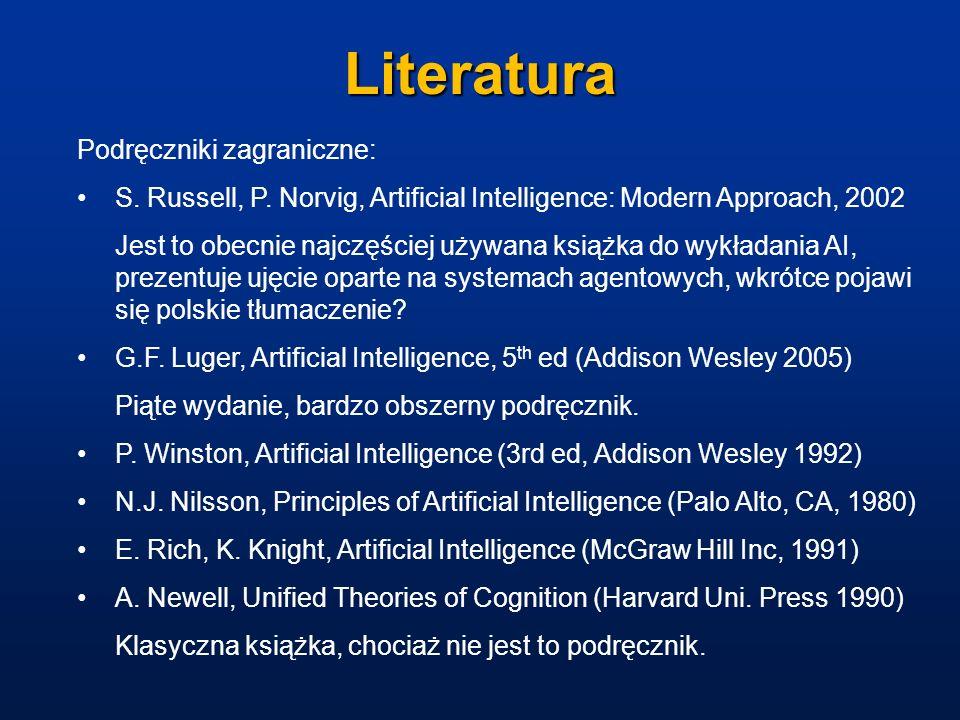 Literatura Podręczniki zagraniczne: