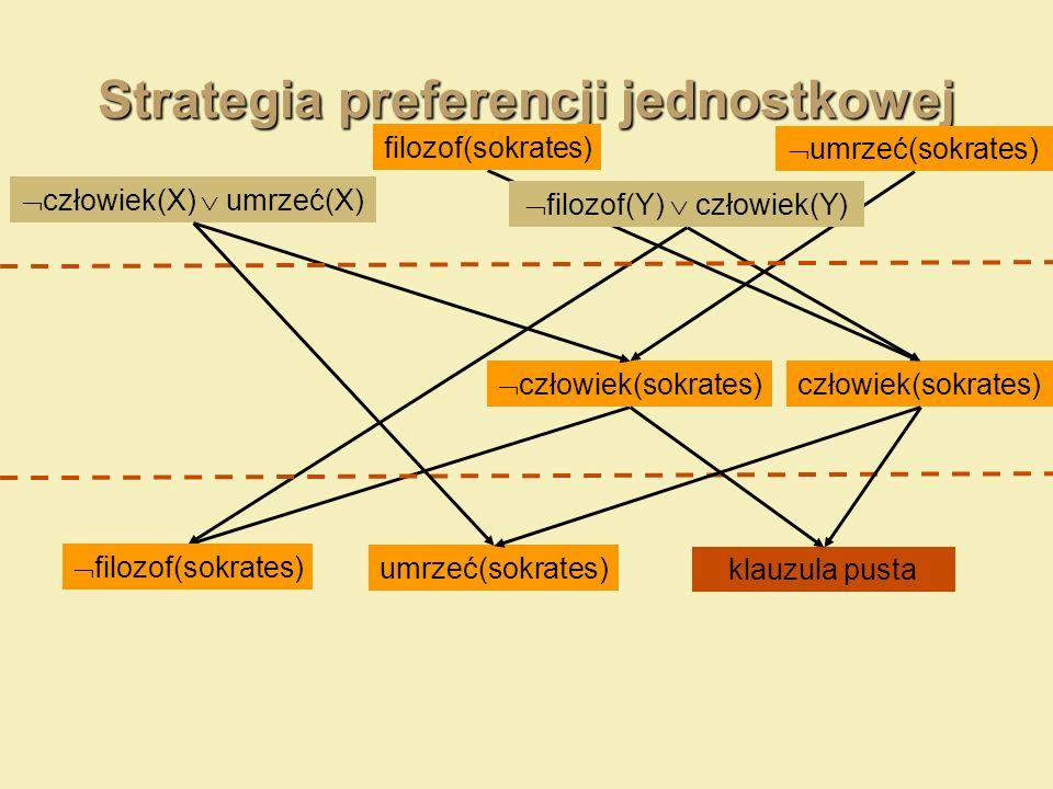 Strategia preferencji jednostkowej