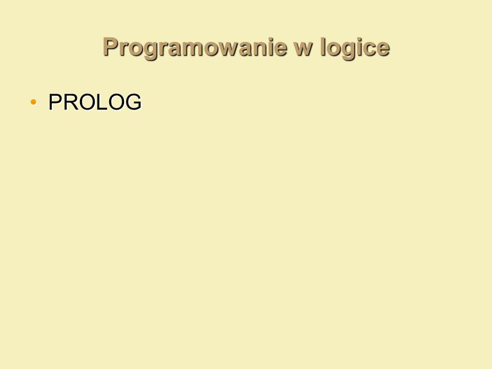 Programowanie w logice