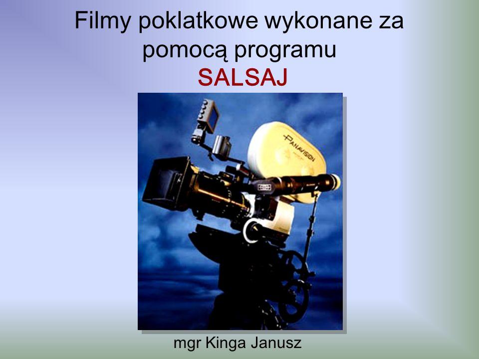 Filmy poklatkowe wykonane za pomocą programu SALSAJ