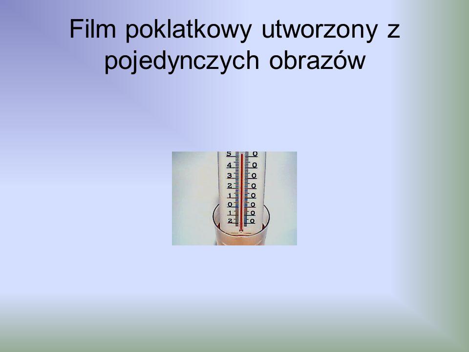 Film poklatkowy utworzony z pojedynczych obrazów
