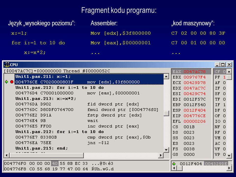 Fragment kodu programu: