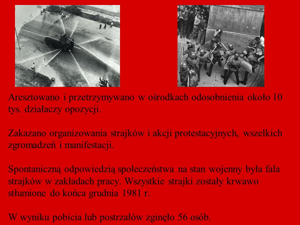 Aresztowano i przetrzymywano w ośrodkach odosobnienia około 10 tys