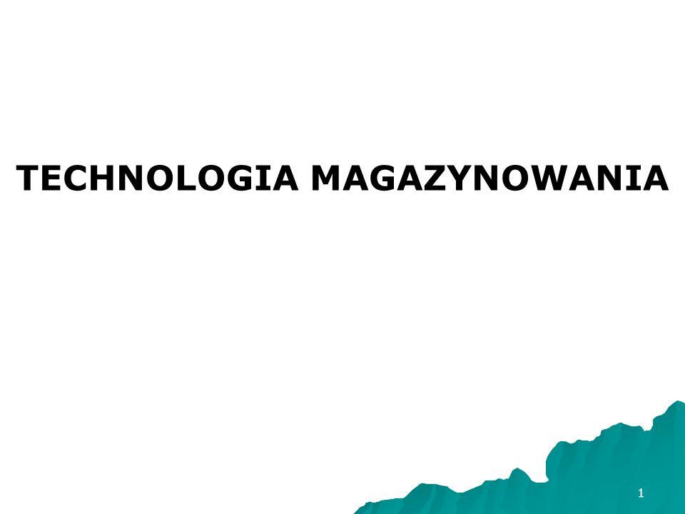 TECHNOLOGIA MAGAZYNOWANIA
