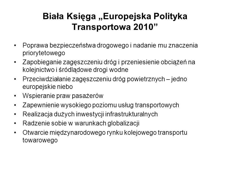 """Biała Księga """"Europejska Polityka Transportowa 2010"""