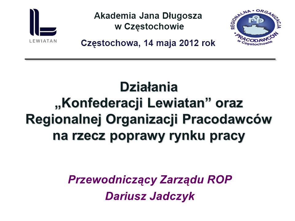 Przewodniczący Zarządu ROP Dariusz Jadczyk