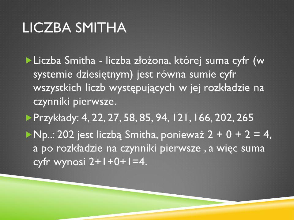 Liczba smitha