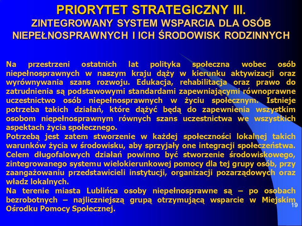 PRIORYTET STRATEGICZNY III