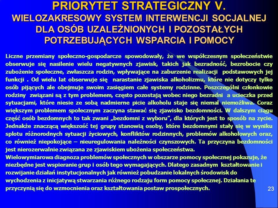 PRIORYTET STRATEGICZNY V
