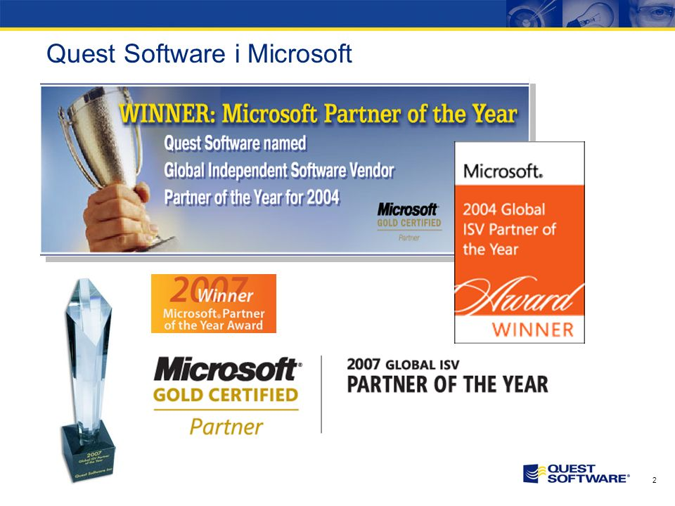 Quest Software i Microsoft