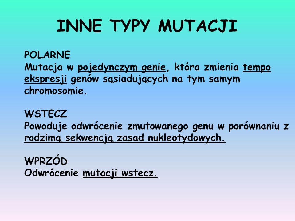 INNE TYPY MUTACJI POLARNE