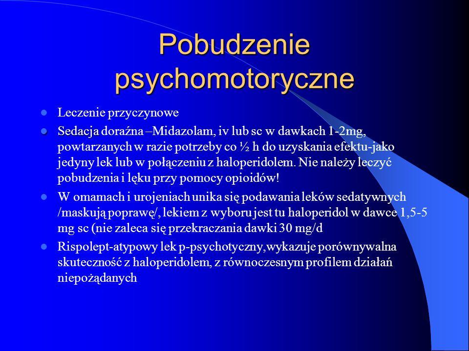 Pobudzenie psychomotoryczne
