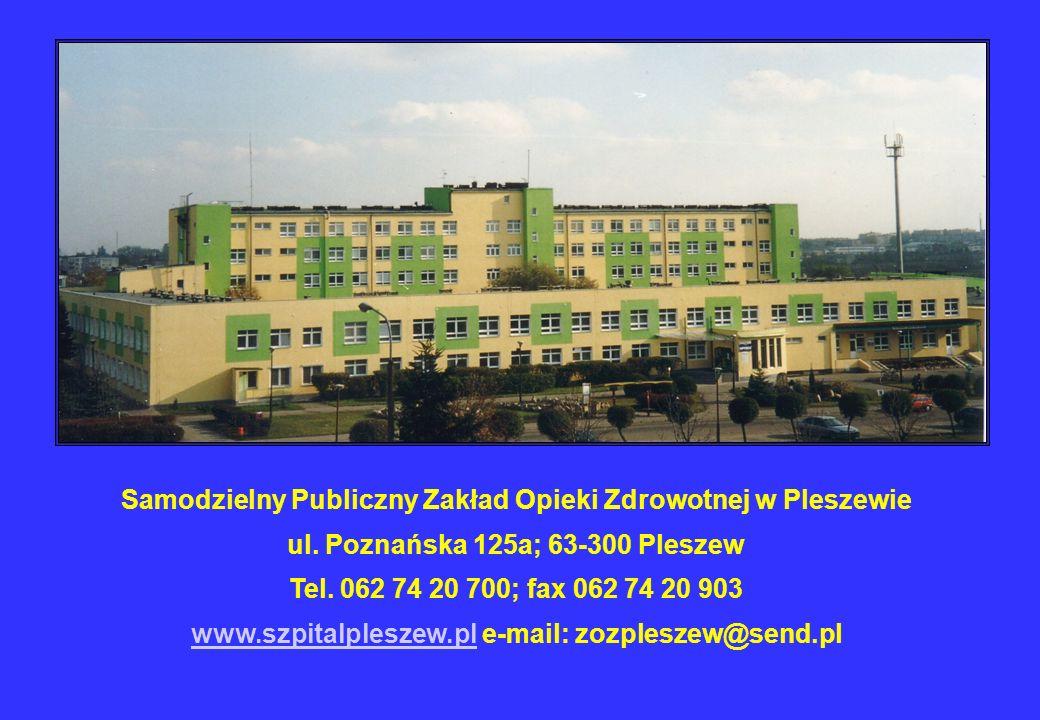 Samodzielny Publiczny Zakład Opieki Zdrowotnej w Pleszewie