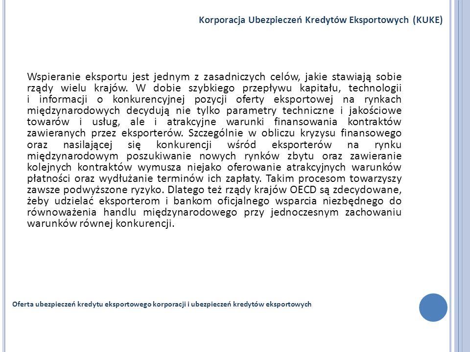 Korporacja Ubezpieczeń Kredytów Eksportowych (KUKE)