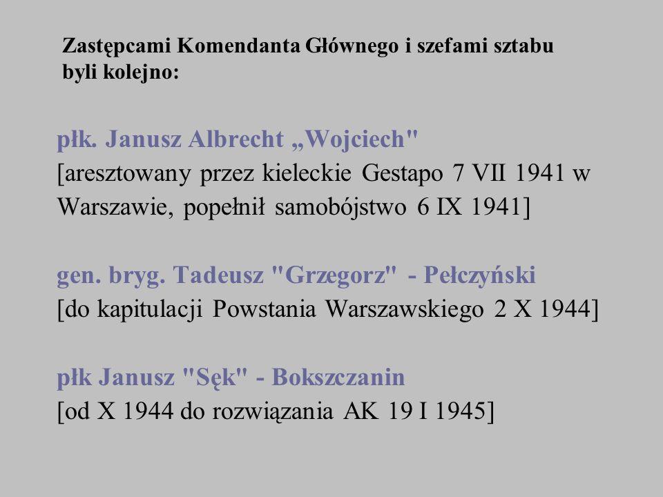 """płk. Janusz Albrecht """"Wojciech"""