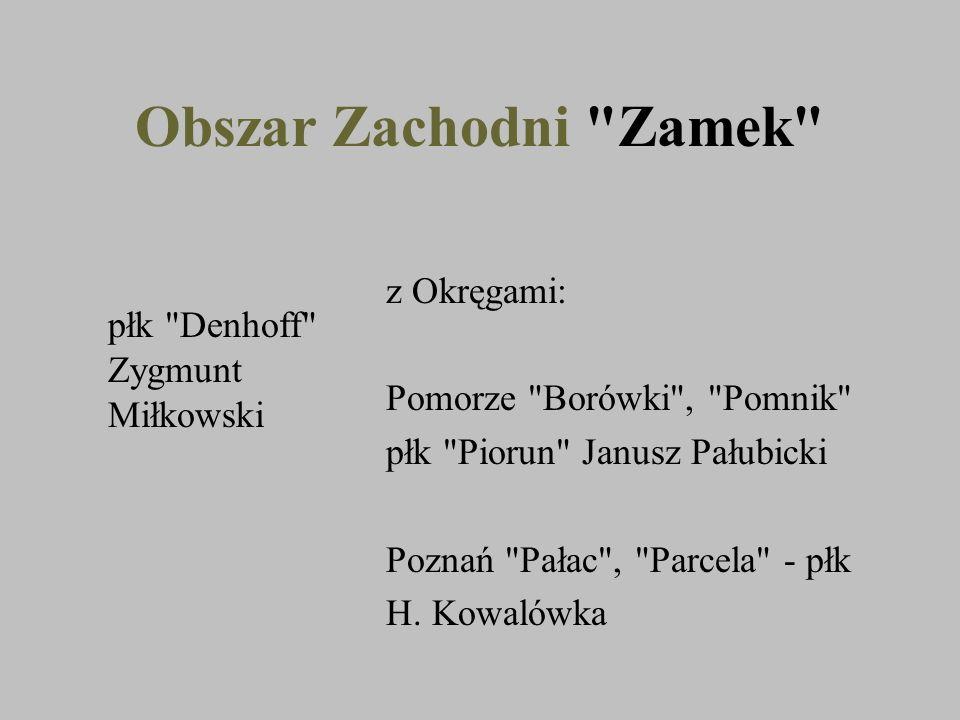 Obszar Zachodni Zamek z Okręgami: Pomorze Borówki , Pomnik