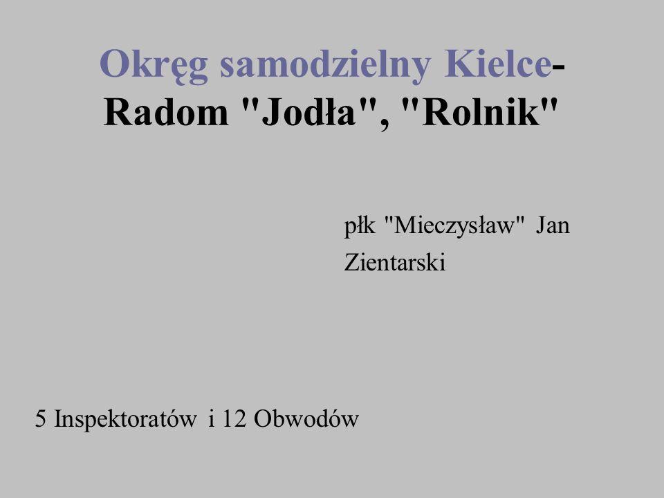 Okręg samodzielny Kielce-Radom Jodła , Rolnik