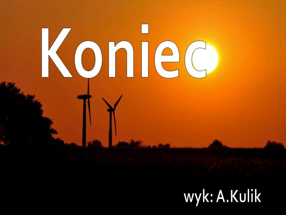 Koniec wyk: A.Kulik