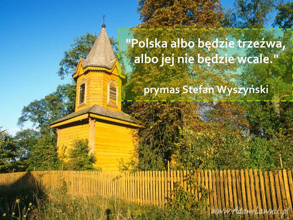 Polska albo będzie trzeźwa, albo jej nie będzie wcale.