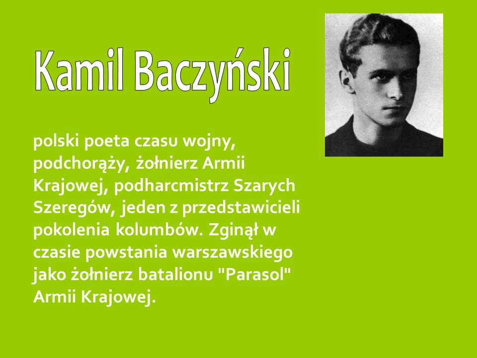 Kamil Baczyński