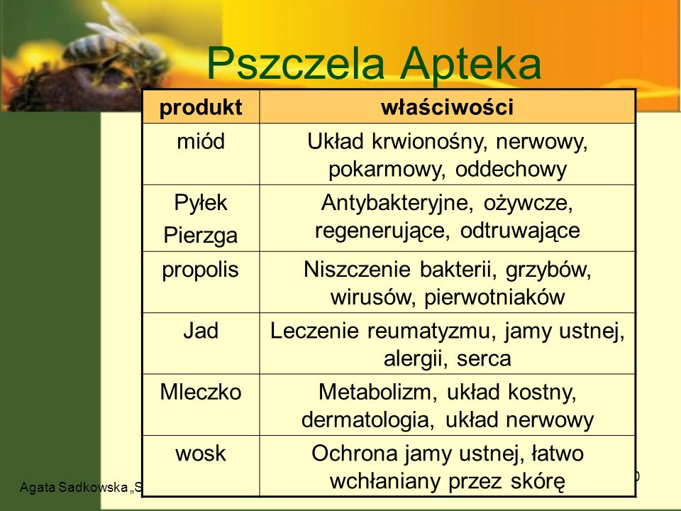 Pszczela Apteka produkt właściwości miód