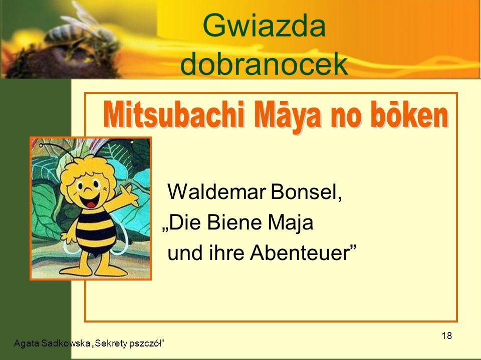 Gwiazda dobranocek Mitsubachi Māya no bōken Waldemar Bonsel,