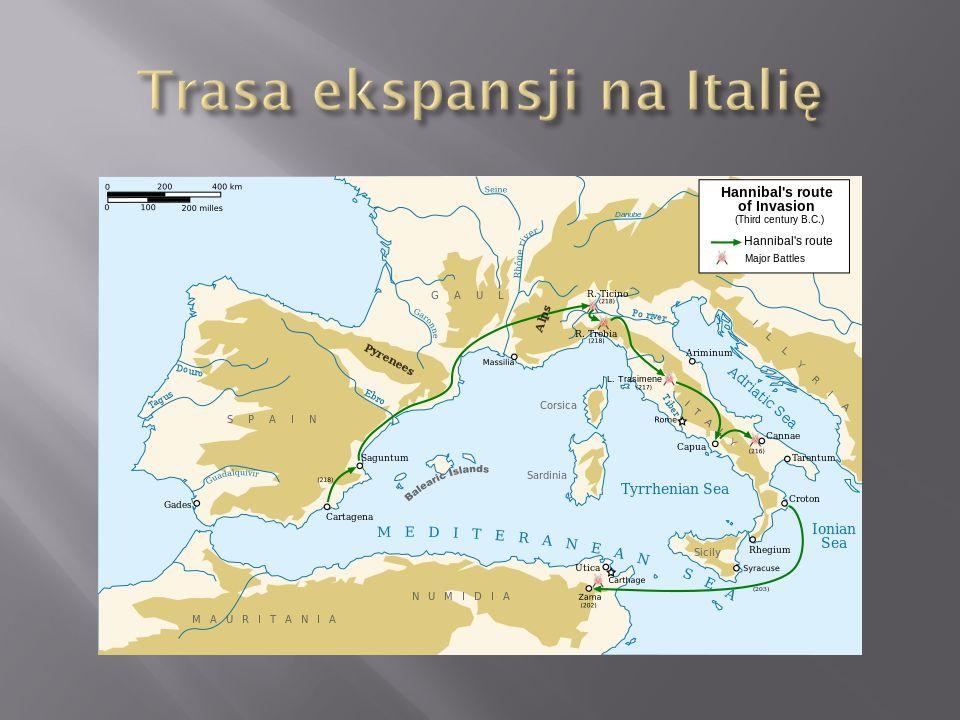 Trasa ekspansji na Italię